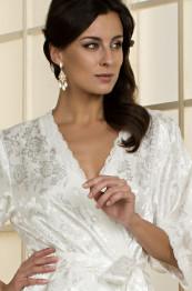 7847 Халат женский Margo white
