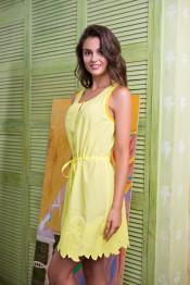 16100 Платье пляжное Sweet angel желтый