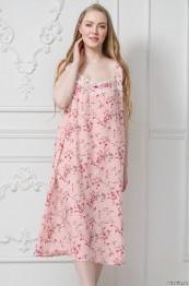 """6478 Сорочка из хлопка """"Emma"""" rose большие размеры"""