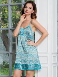 9640 Сорочка женская Federika blue