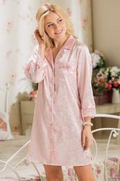 """9537 Рубашка свадебная """"Angelina"""" розовый"""