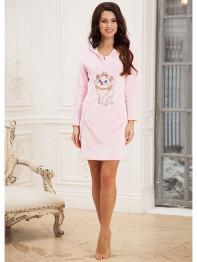 """232 Платье домашнее """"Cleo"""" розовый"""