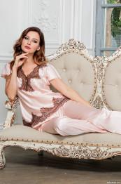 3106 Пижама шелковая Marilin