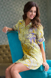 """16226 Рубашка из хлопка """"Limonchella"""""""