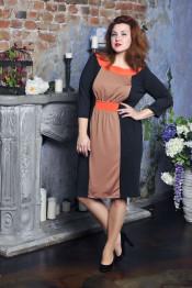 Платье Omega-001 большие размеры