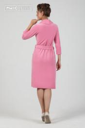 1501  Халат женский Comfort розовый