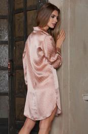 """15122 Рубашка-халат шелковая """"Agata"""""""