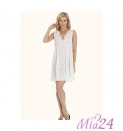 132 Сорочка женская Lelio молочный