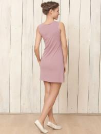 1407 Платье-сорочка Enjoy орхидея
