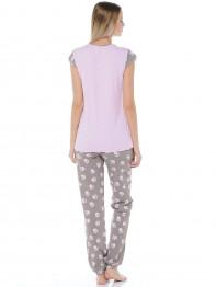 """362 Пижама женская """"Cleo"""" розовый"""