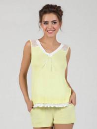 1502 Пижама женская Angelo желтый