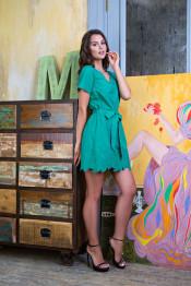 16104 Туника пляжная Sweet angel зеленый