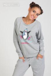 1501 Костюм трикотажный Pinguin серый