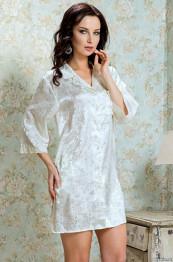 7848 Рубашка свадебная Margo white