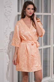 7847 Халат женский Margo peach