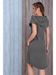 1503 Платье трикотажное Amber Queen серый